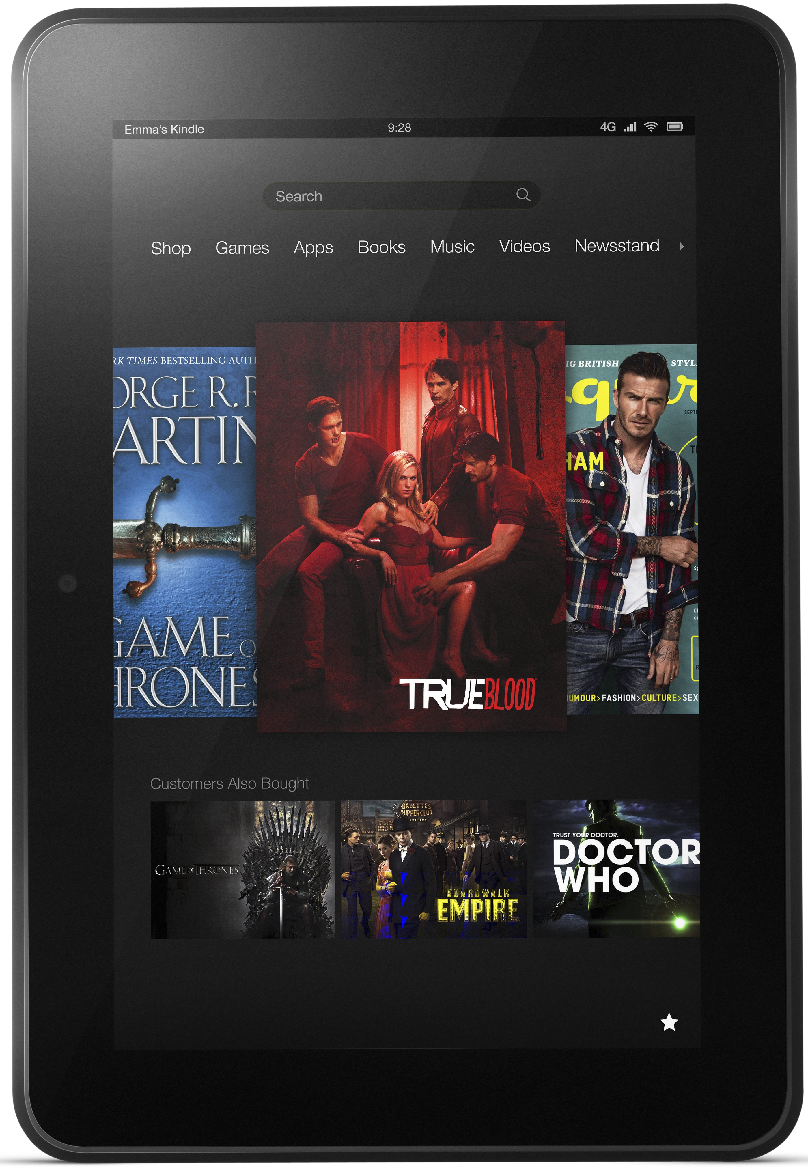 Amazon Kindle Fire HD 8.9 4G LTE