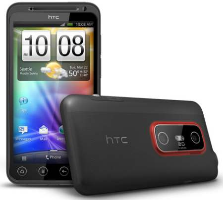 HTC EVO 3D Price in India | Specifications, Features, Reviews