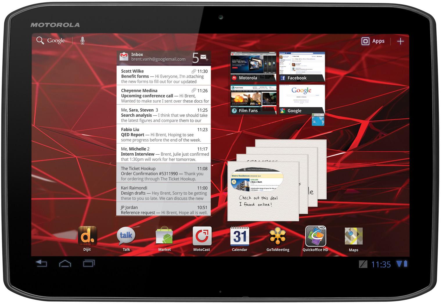 Motorola DROID Xyboard 8.2