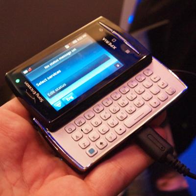 Sony Ericsson Xperia X10 Mini Pro Pictures